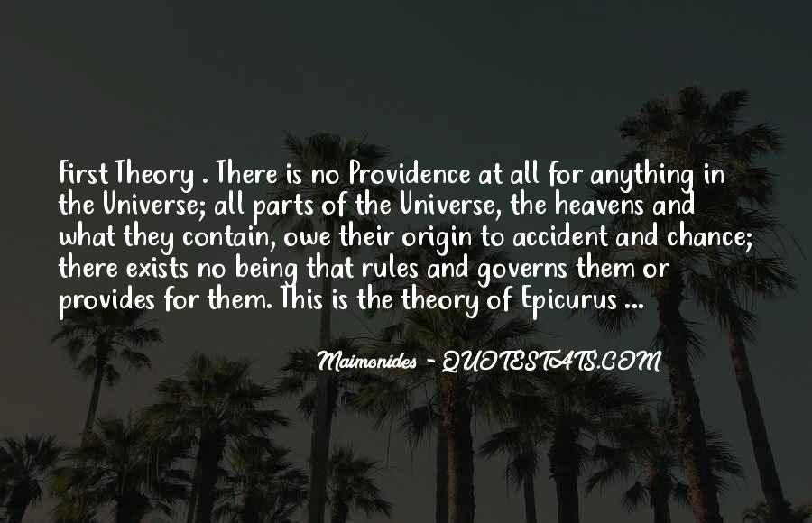 Universe Provides Quotes #699569