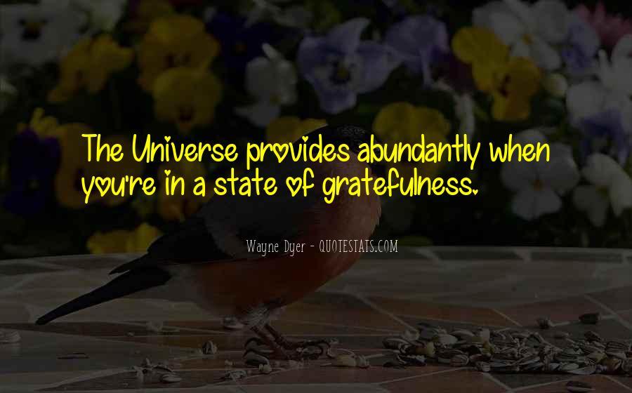Universe Provides Quotes #994696