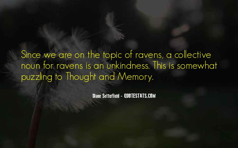 Unkindness Of Ravens Quotes #463850