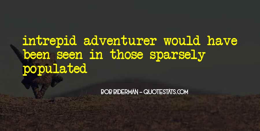 Quotes About Intrepid #1136213