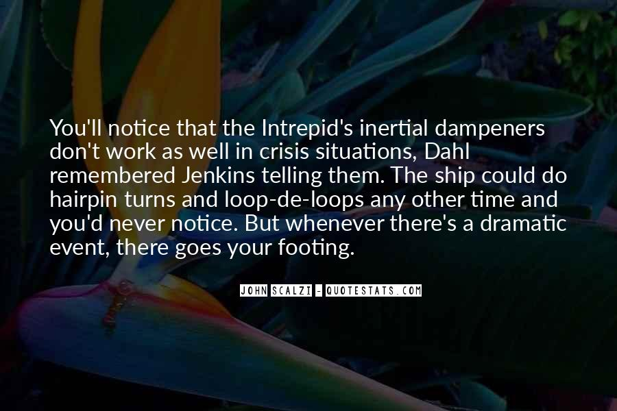 Quotes About Intrepid #133350