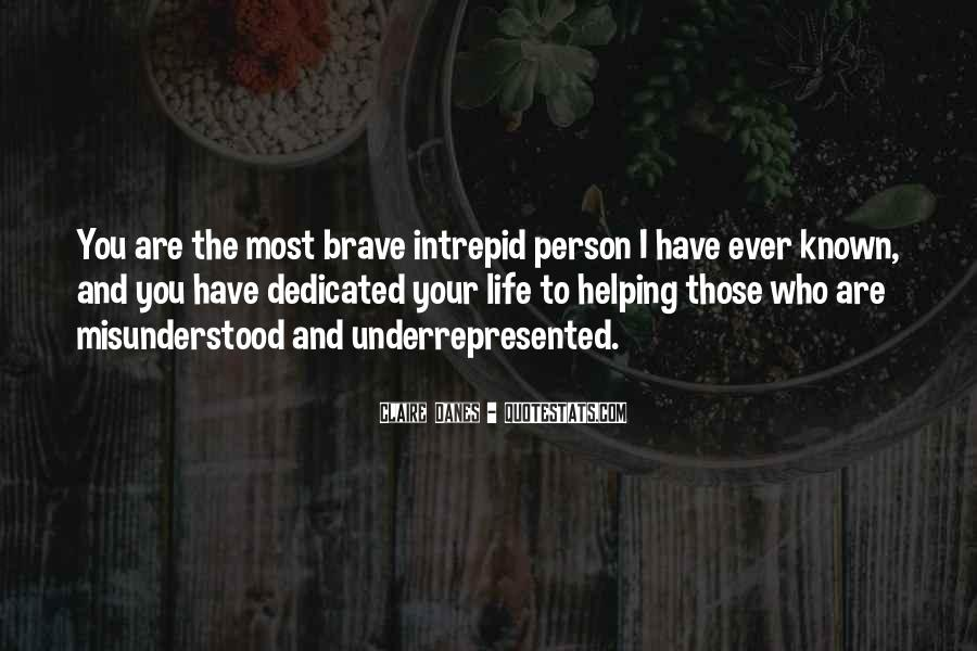 Quotes About Intrepid #1785516