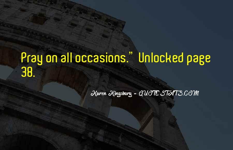 Unlocked Karen Kingsbury Quotes #1392254