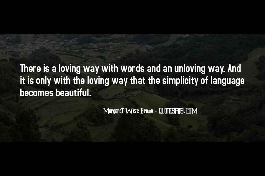 Unloving Quotes #1297672