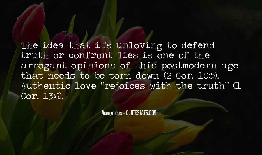 Unloving Quotes #1365184