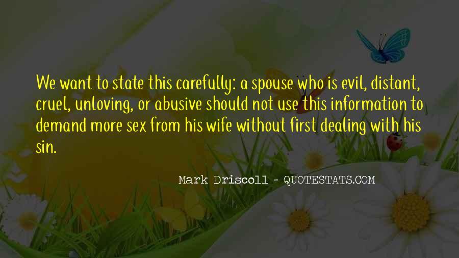 Unloving Quotes #1418395