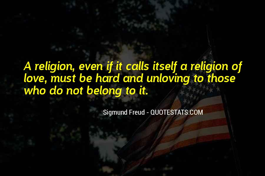 Unloving Quotes #1818055