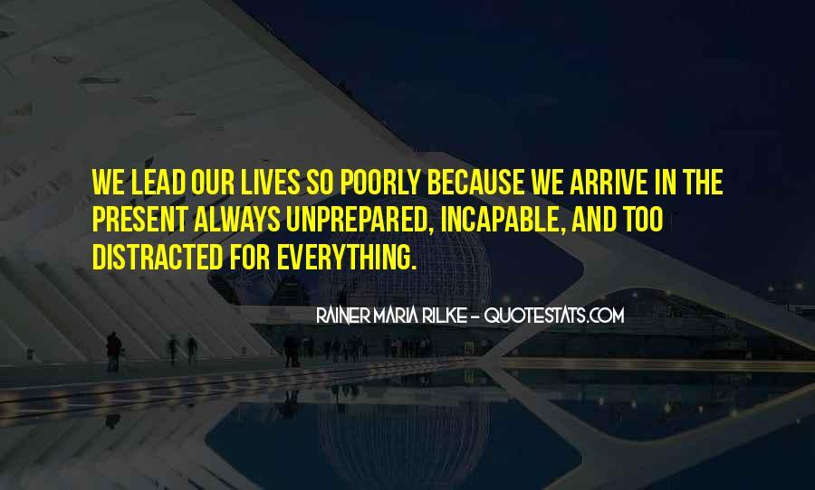 Unprepared Quotes #1001121