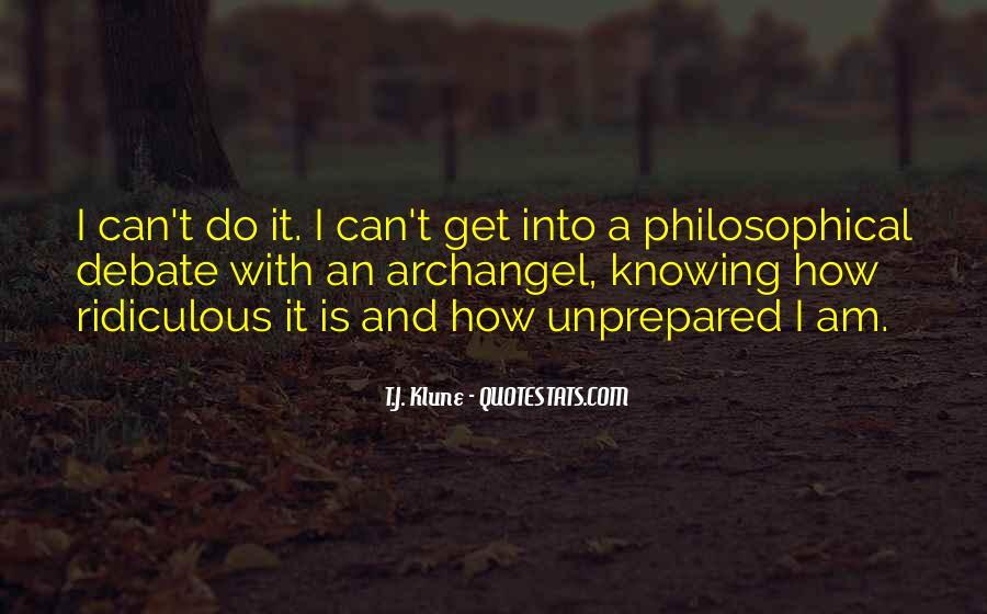 Unprepared Quotes #1023665