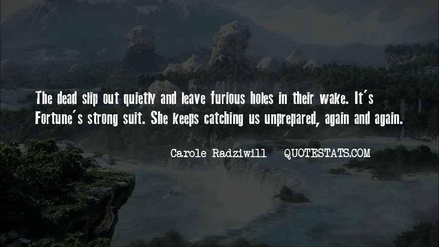 Unprepared Quotes #1048246