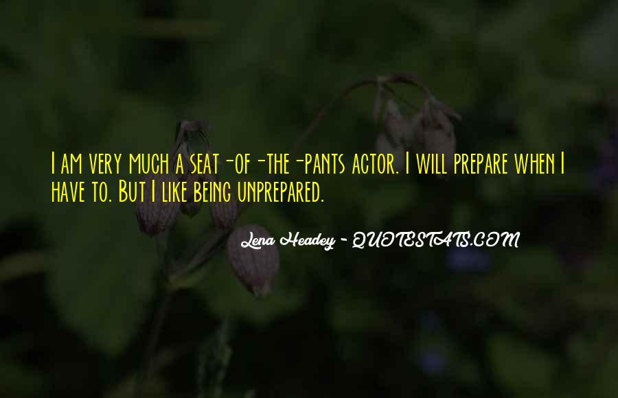 Unprepared Quotes #204887