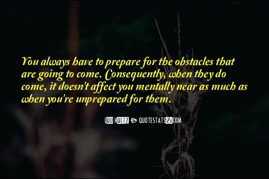 Unprepared Quotes #241691