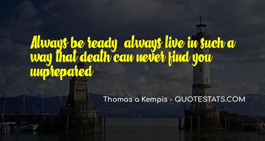 Unprepared Quotes #307005