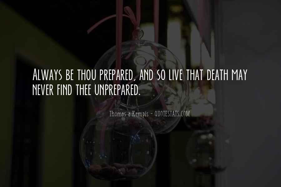 Unprepared Quotes #406322