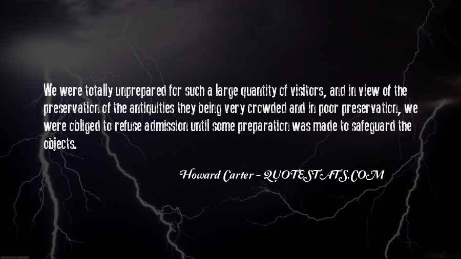 Unprepared Quotes #465196
