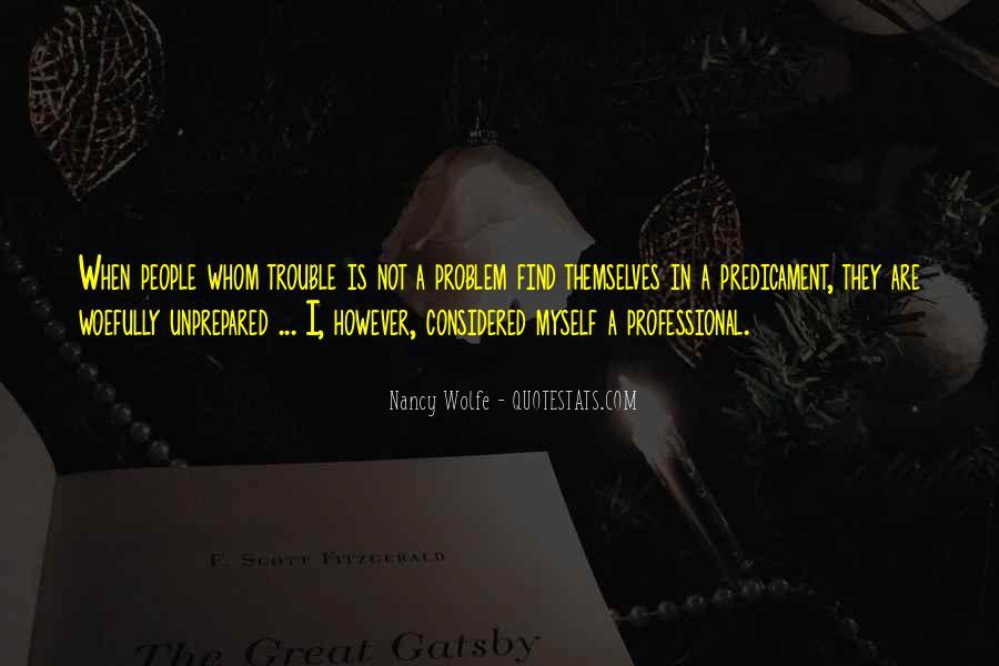 Unprepared Quotes #465471