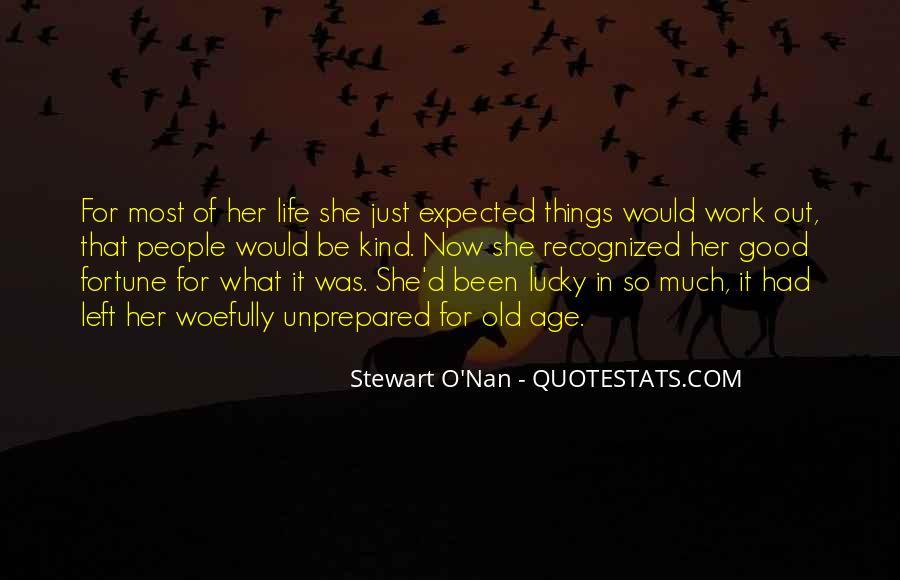 Unprepared Quotes #589409