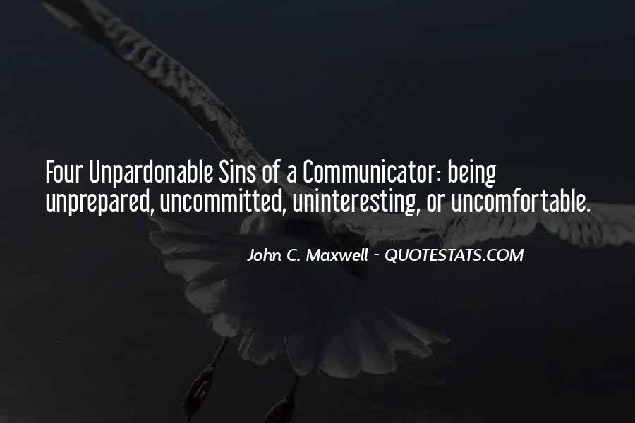 Unprepared Quotes #803396