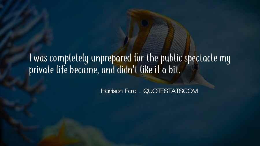 Unprepared Quotes #918104