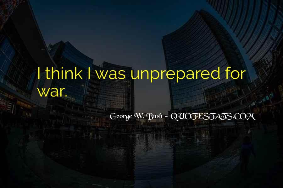 Unprepared Quotes #953741