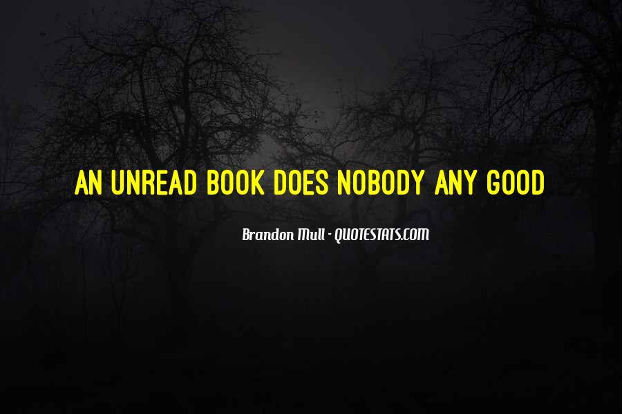 Unread Book Quotes #1248855