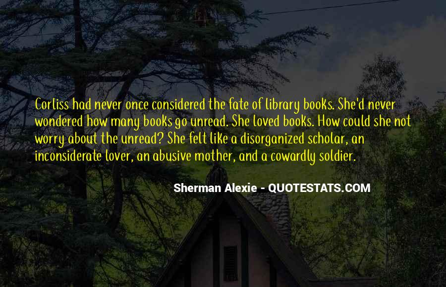 Unread Book Quotes #1722307