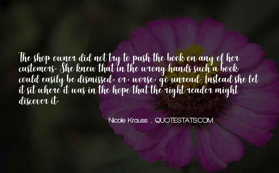Unread Book Quotes #719354