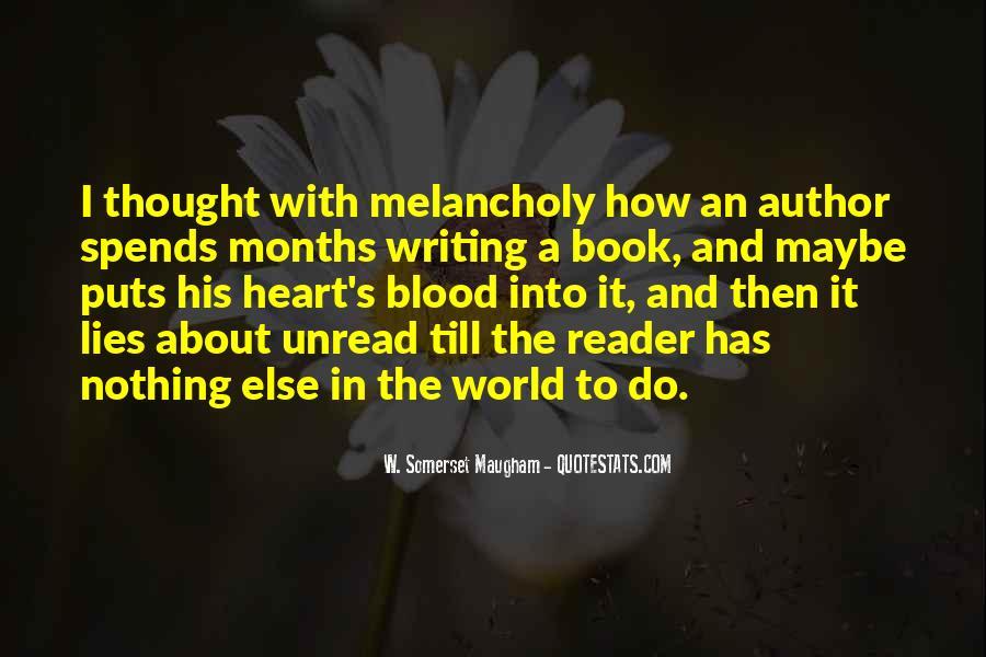 Unread Book Quotes #974373