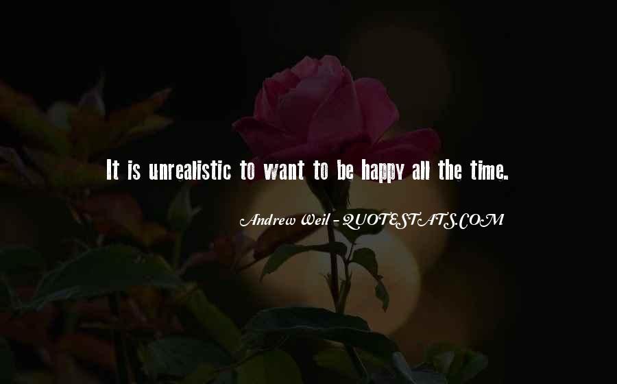 Unrealistic Quotes #154202