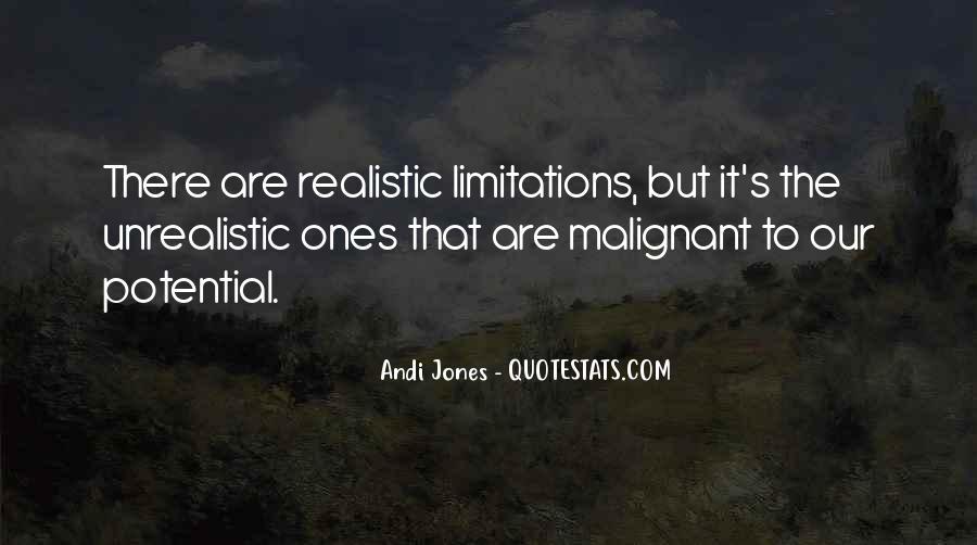 Unrealistic Quotes #157080