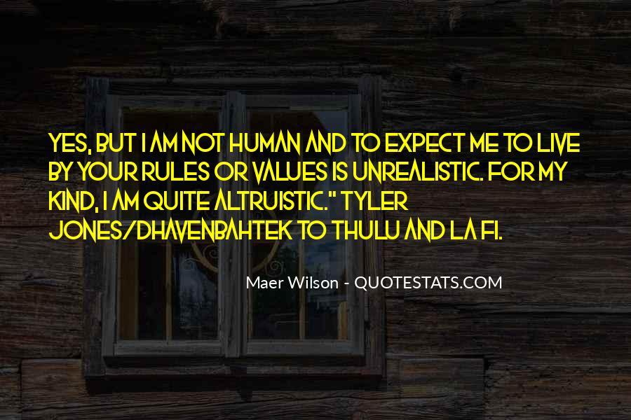 Unrealistic Quotes #174559