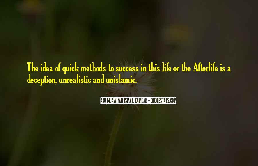 Unrealistic Quotes #301037