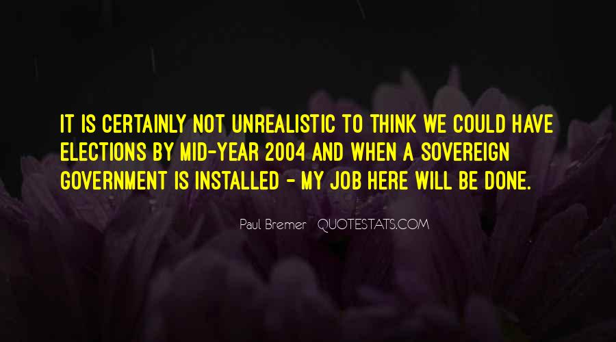 Unrealistic Quotes #407927