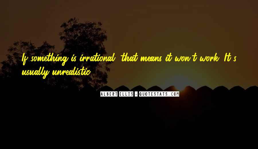 Unrealistic Quotes #427717