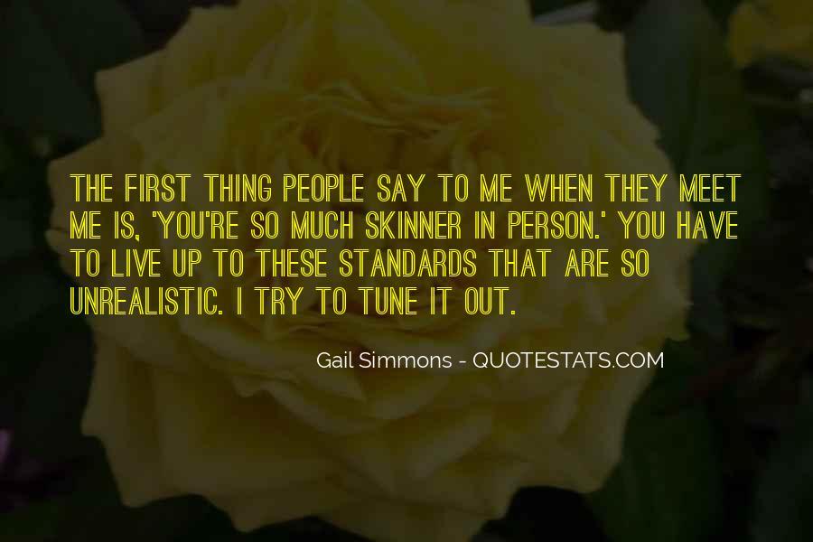 Unrealistic Quotes #479269