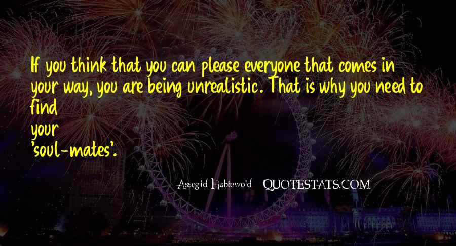 Unrealistic Quotes #493631