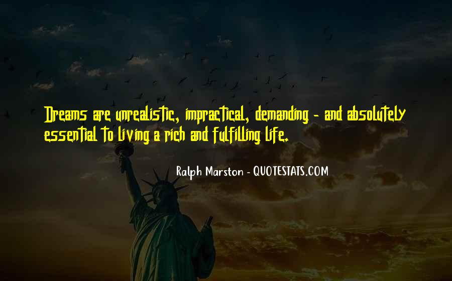 Unrealistic Quotes #527185