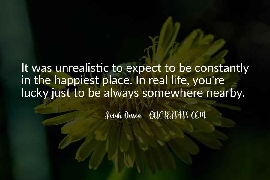 Unrealistic Quotes #725816