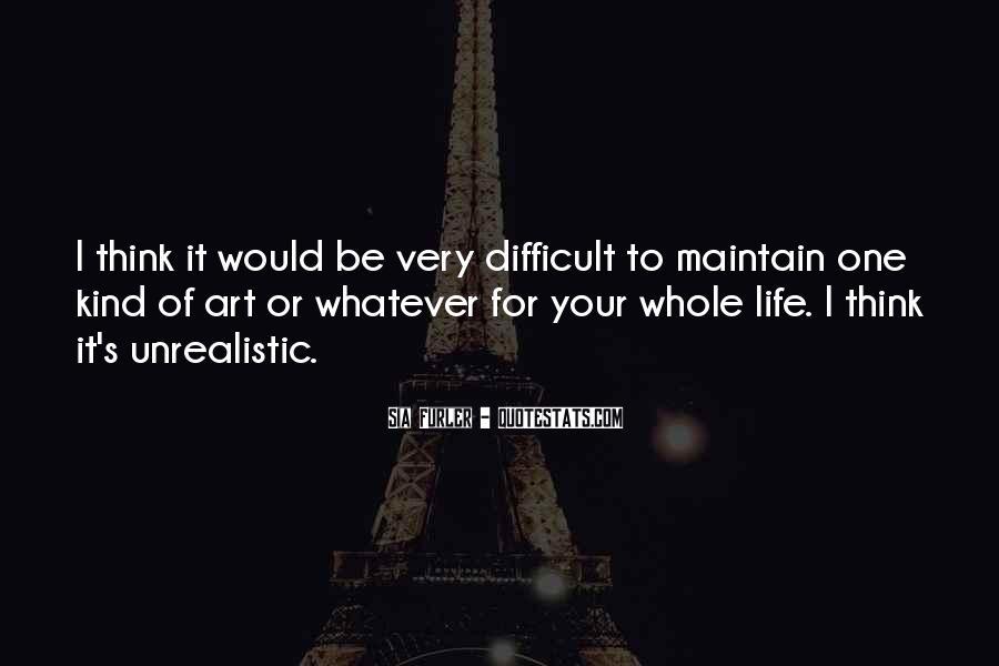 Unrealistic Quotes #774044