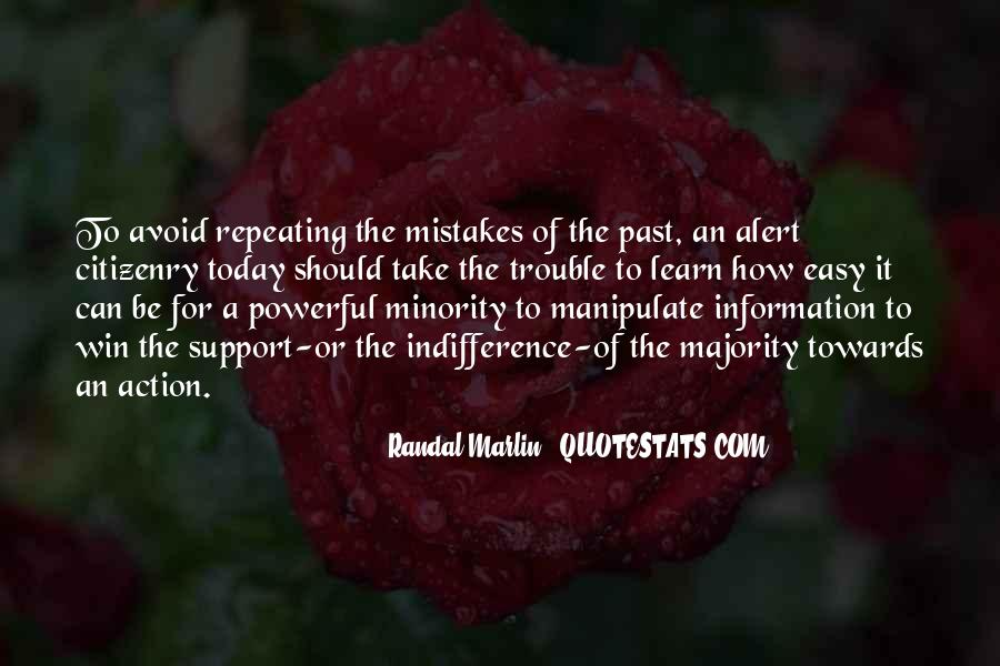 Quotes About Not Repeating Past Mistakes #1498761