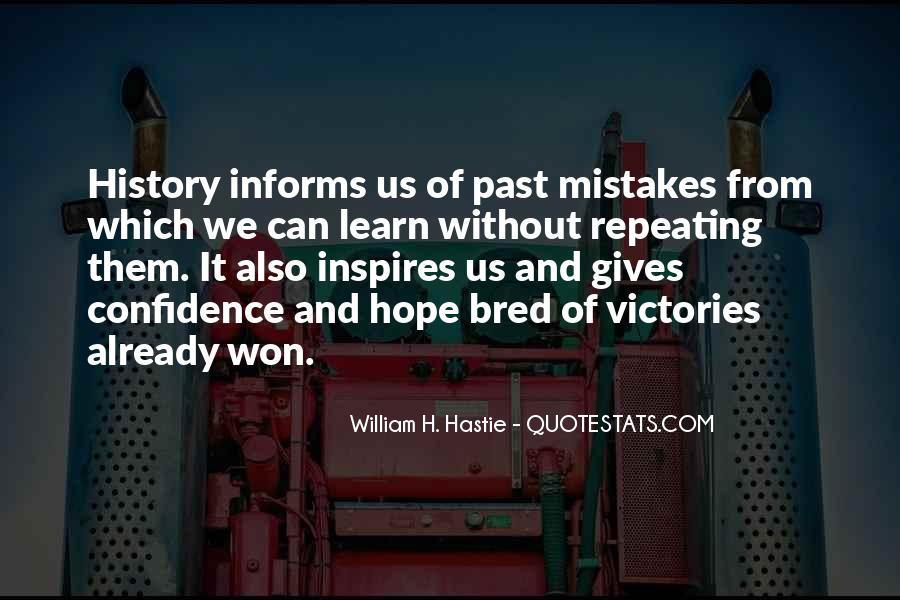 Quotes About Not Repeating Past Mistakes #673801