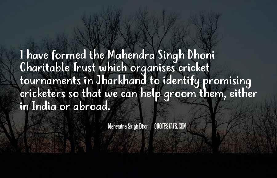 Quotes About Cricket In India #883781
