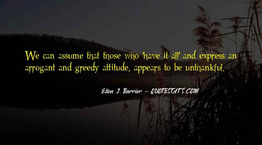 Unthankful Quotes