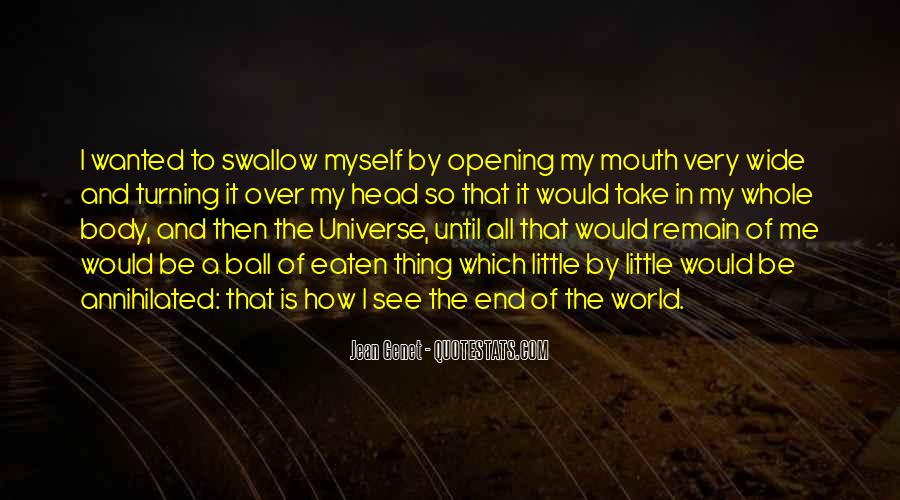 Until The End Of The World Quotes #1852159