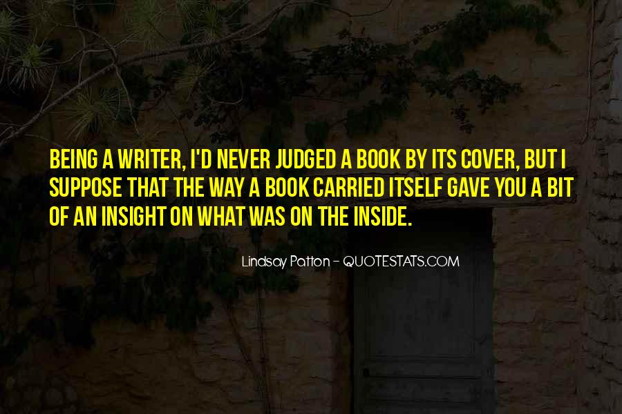 Quotes About Being Judged By Your Past #119147