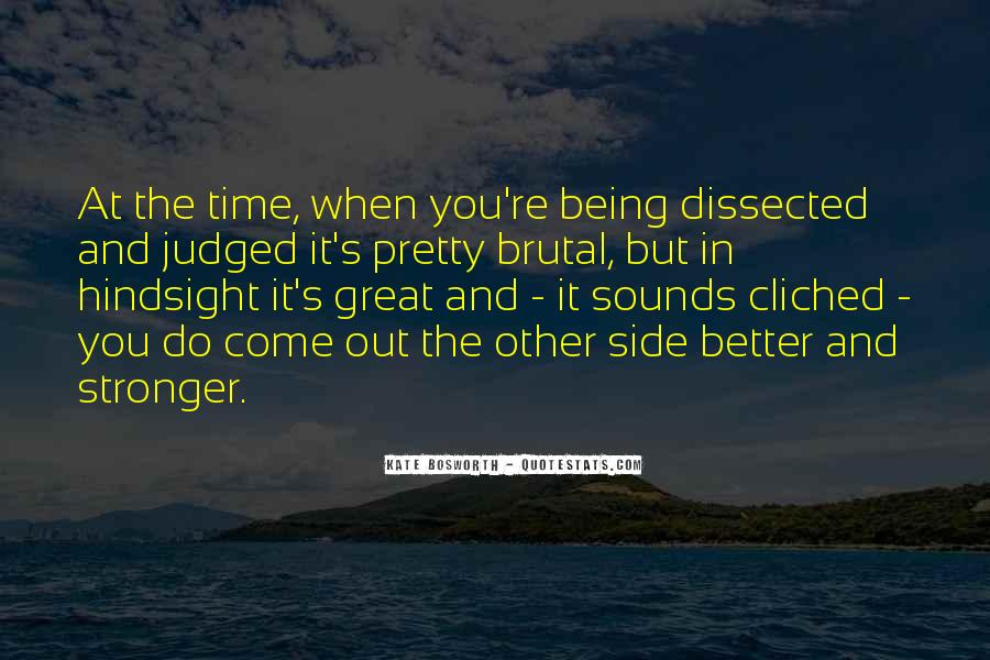 Quotes About Being Judged By Your Past #598671