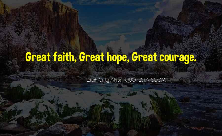 Quotes About Inner Strength And Faith #1342513