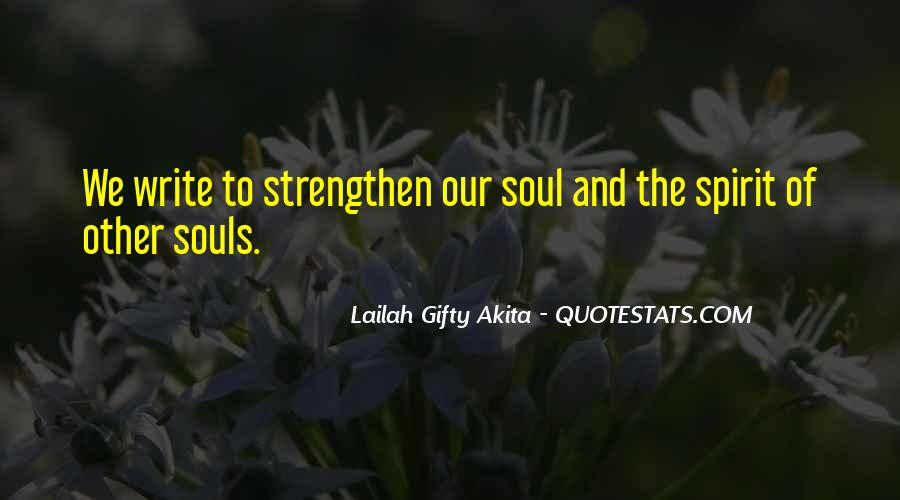 Quotes About Inner Strength And Faith #1421605