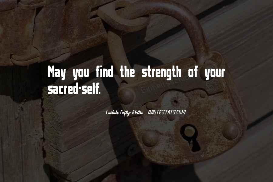 Quotes About Inner Strength And Faith #657270