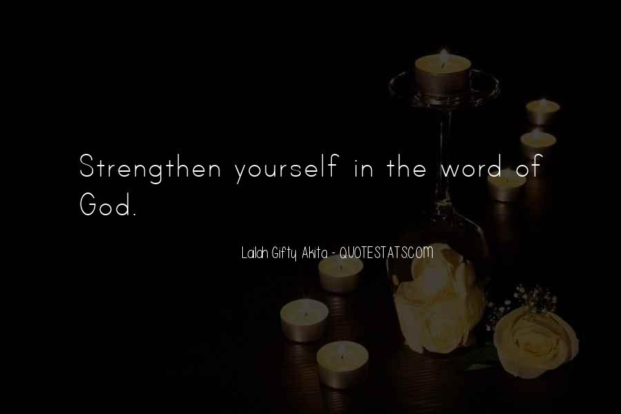 Quotes About Inner Strength And Faith #825864